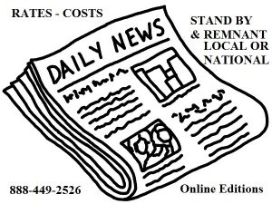 Newspaper ad rates