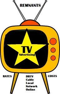 TV advertising rates